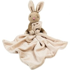bobtail bunny personalised comforter