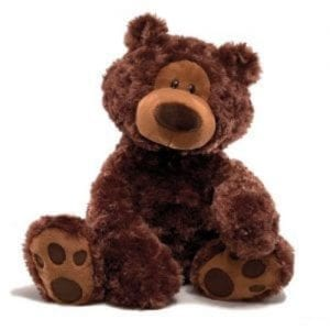 philbin personalised bear brown