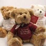 Personalised Wedding Teddy Bears