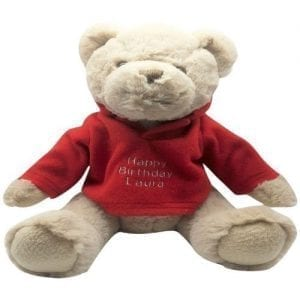 bartley personalised bear