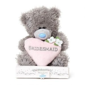 me to you bridesmaid teddy bear