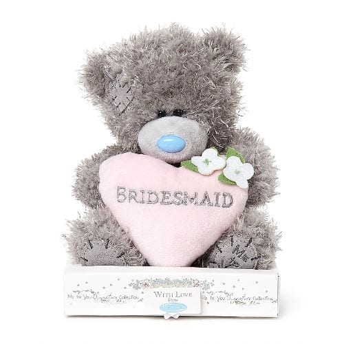 me to you bridesmaid teddy bear