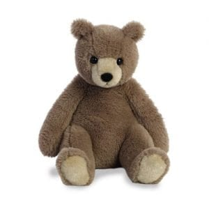 mocha personalised teddy bear