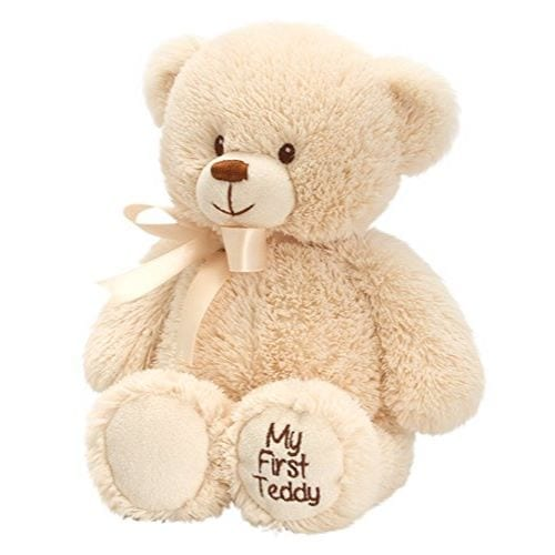 personalised my first teddy brown