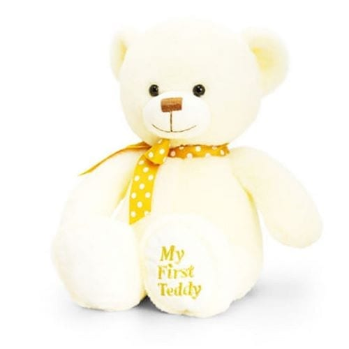 personalised my first teddy