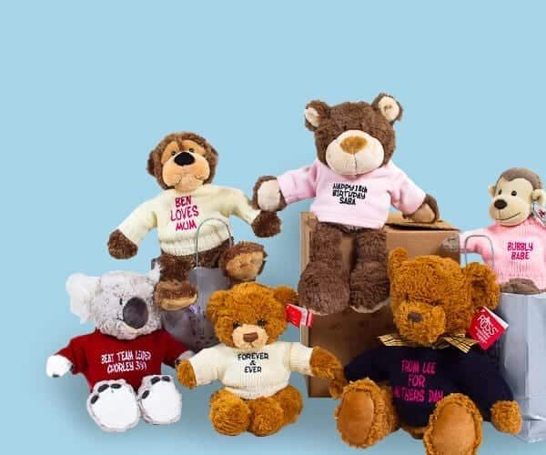 personalised bears
