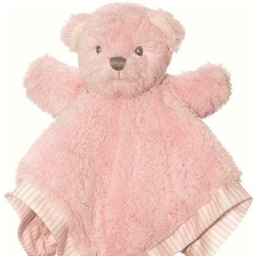 pink puppet blankie