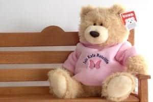 Personalised Gund Teddy Bear