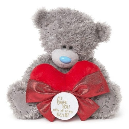 big me to you bear with heart