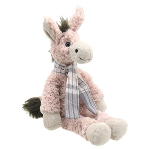 pink donkey teddy