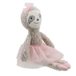 ballerina sloth teddy bear
