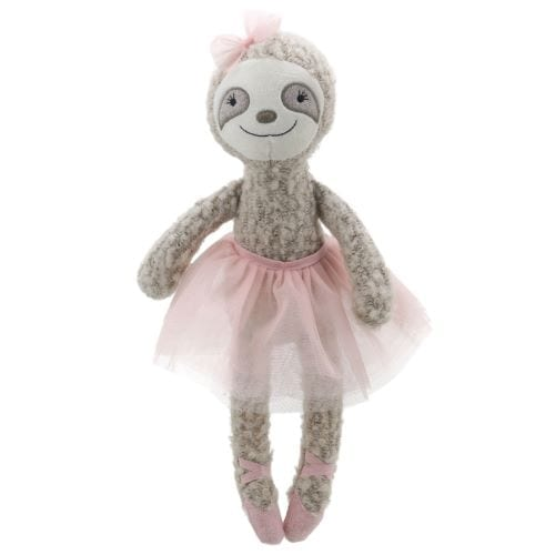 ballerina sloth teddy