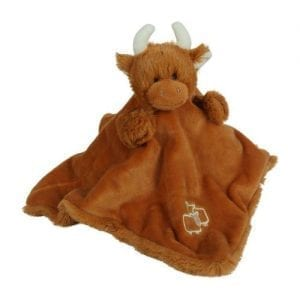 highland cow comforter