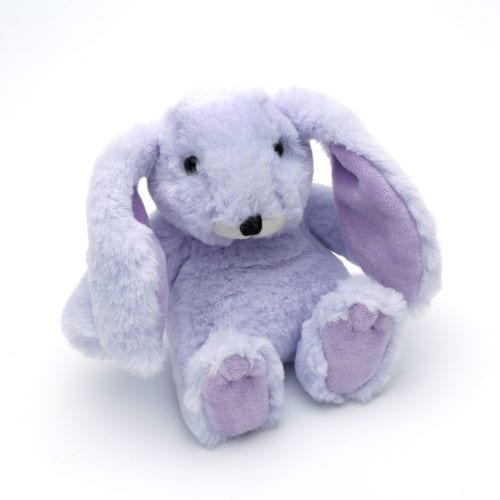 personalised lilac bunny