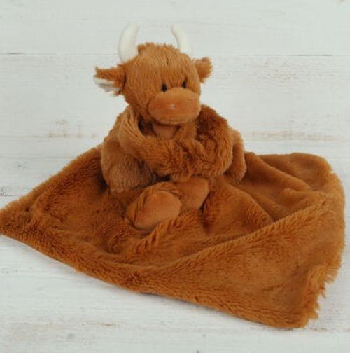 highland cow comforter