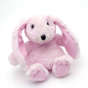 personalised pink bunny