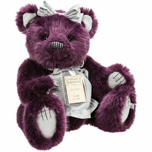 alice silver tag bear