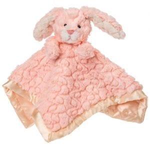 Nursery bunny comfort blanket