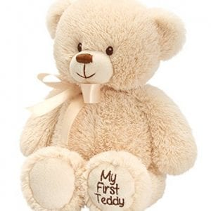 my first teddy bear brown