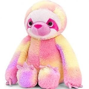 Rainbow sloth teddy
