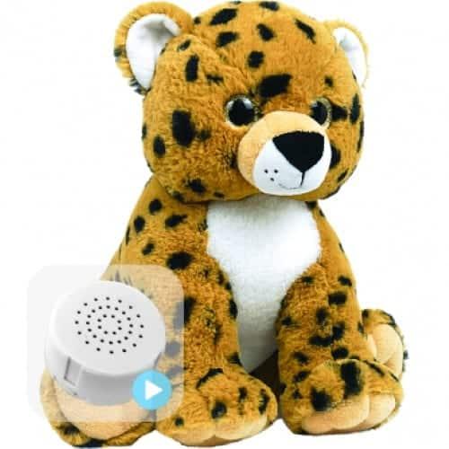cheetah voice recording teddy