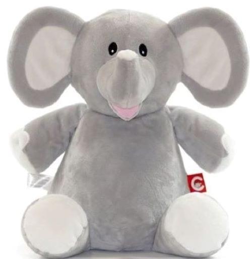 Grey elephant cubbie