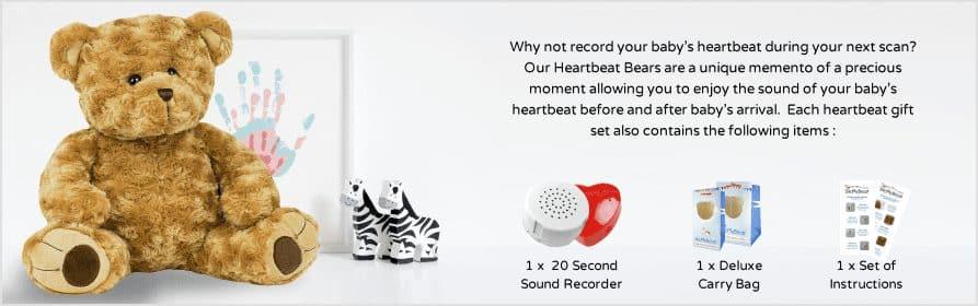 Heartbeat Teddy Bears