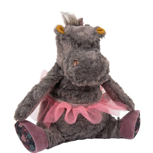 moulin Roty pink hippo