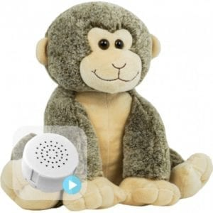 smiley monkey voice recording teddy