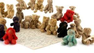 world war 1 miniature teddies