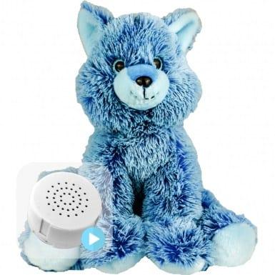 blue fox message teddy