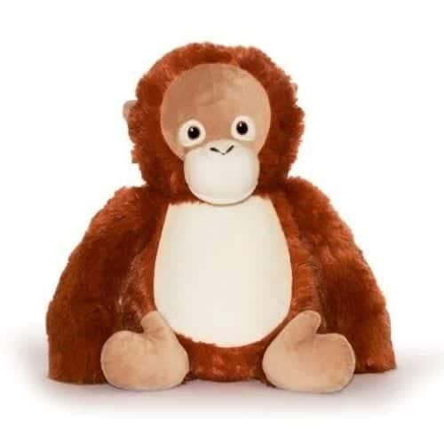personalsied orangutan cubbie teddy