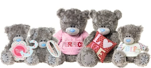 group of me to you bears