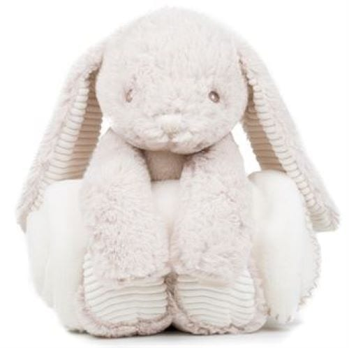 bunny with blanket