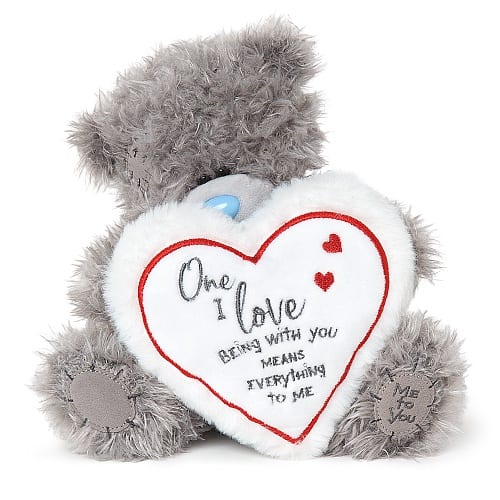 me to you teddy with heart