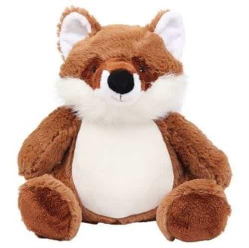 personalised fox teddy