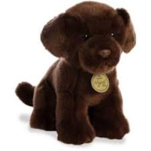 chocolate labrador teddy