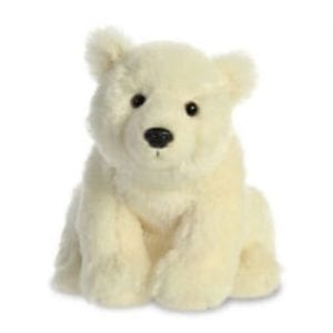 eco nation polar bear toy