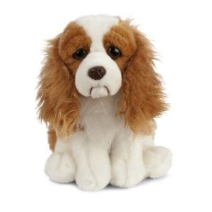 king charles spaniel soft toy