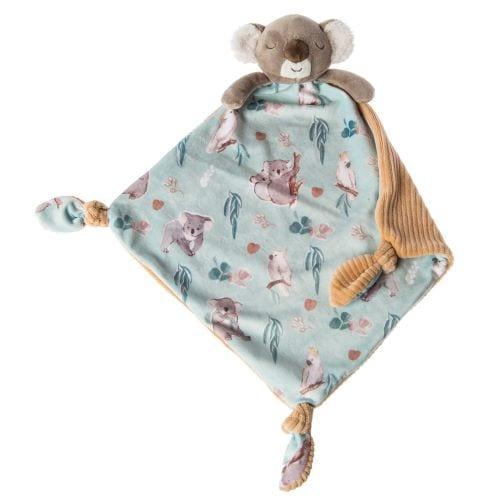 little knotties koala comfort blanket
