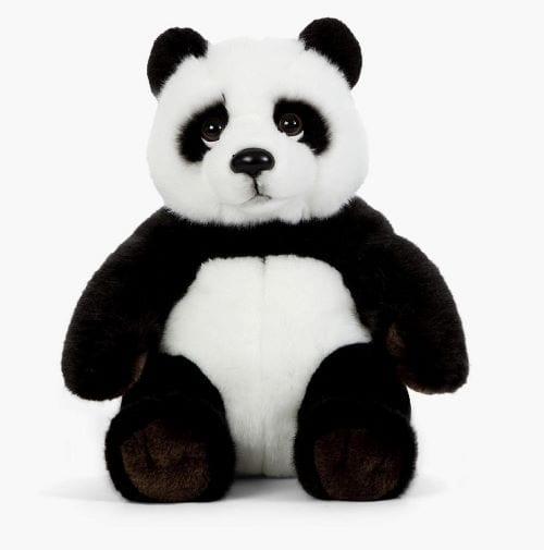 personalised panda teddy