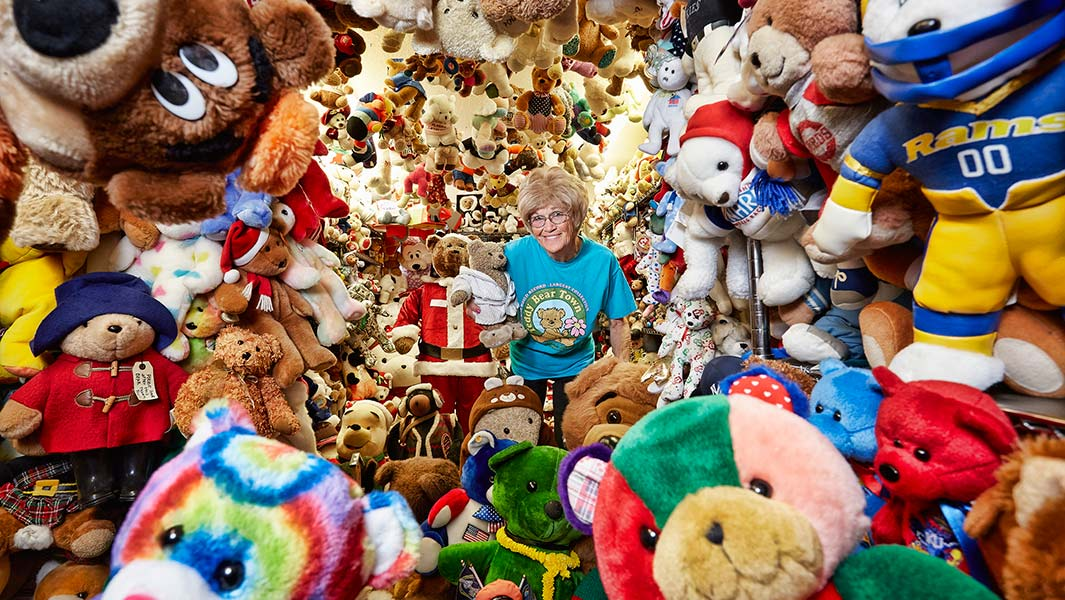 worlds biggest teddy bear collection