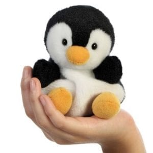 palm pal penguin in hand
