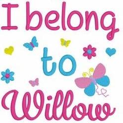 I belong to Girl