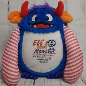 worry monster teddy