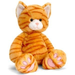 ginger cat teddy