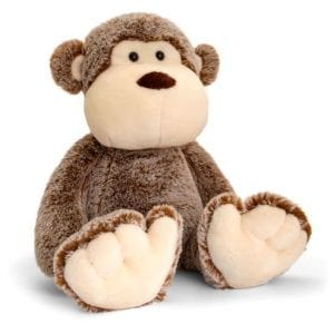 hug me monkey soft toy