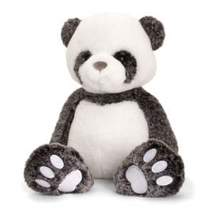 personalised love to hug panda teddy