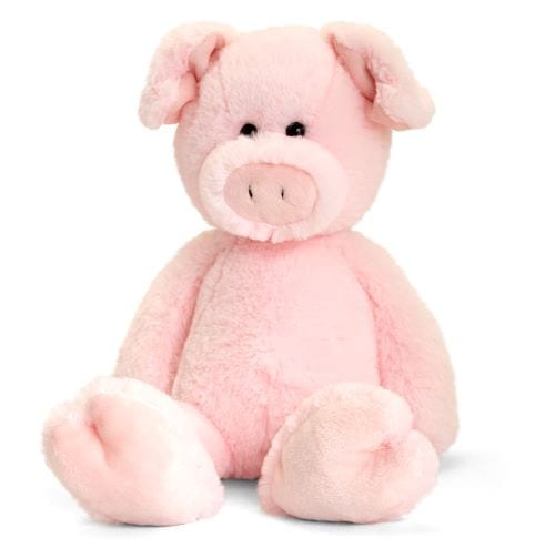 personalised hug me pig teddy