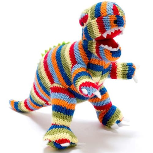 Knitted T Rex Teddy